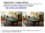application image editing