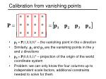 calibration from vanishing points1