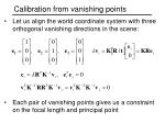 calibration from vanishing points2