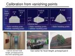 calibration from vanishing points3
