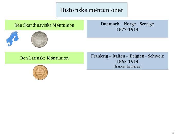 Historiske møntunioner