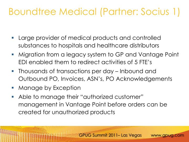 Boundtree Medical