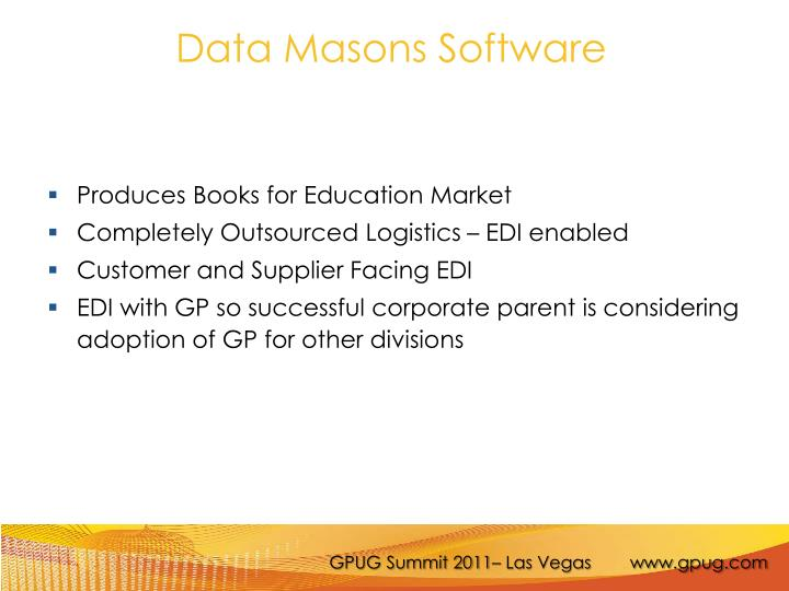 Data Masons Software