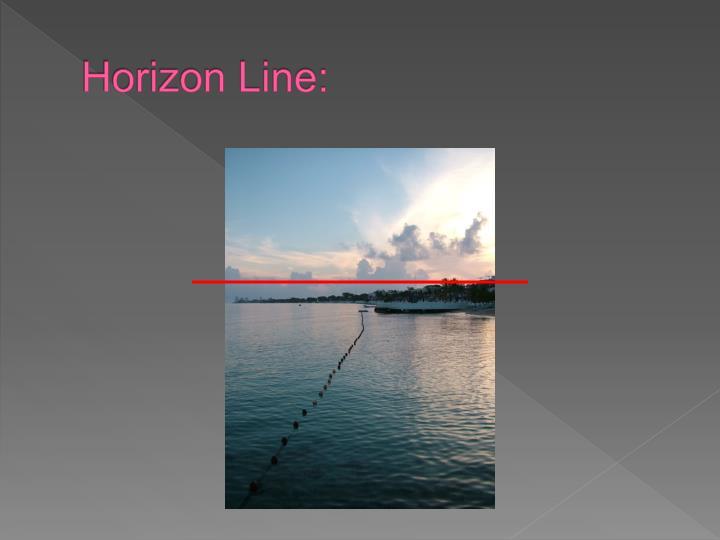 Horizon Line: