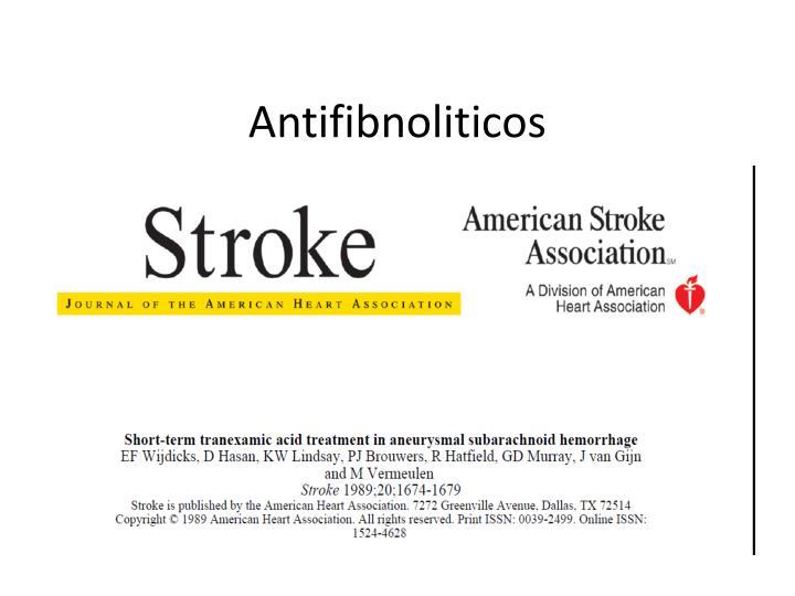 Antifibnoliticos