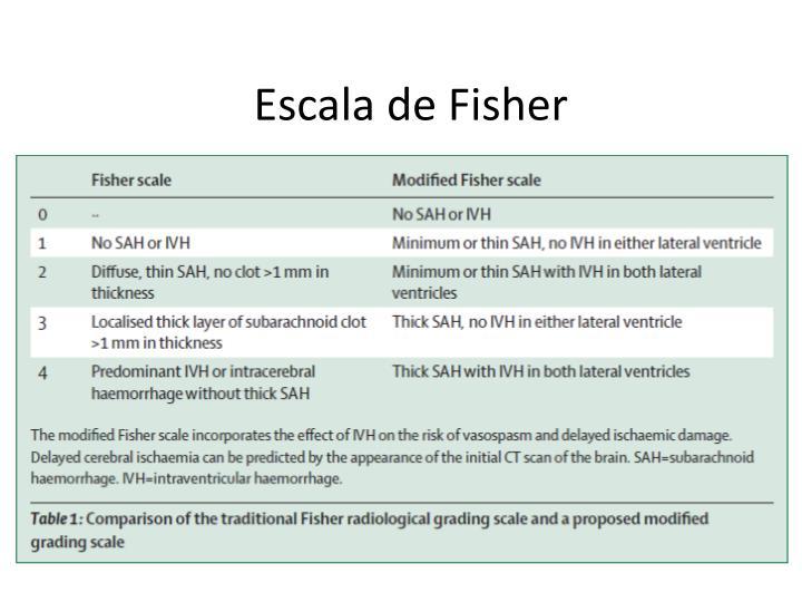 Escala de Fisher