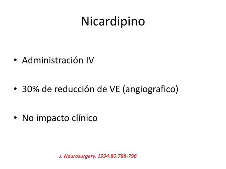 Nicardipino