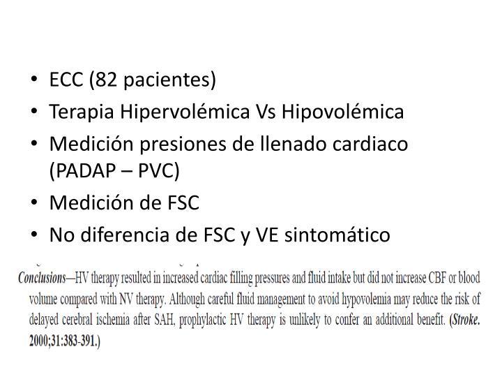 ECC (82 pacientes)