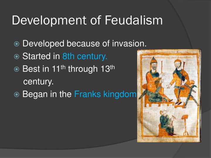 Development of Feudalism