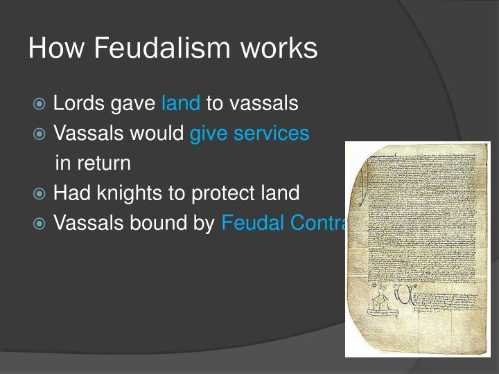 How Feudalism