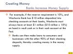creating money banks increase money supply1