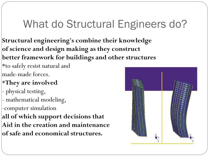What do Structural Engineers do?
