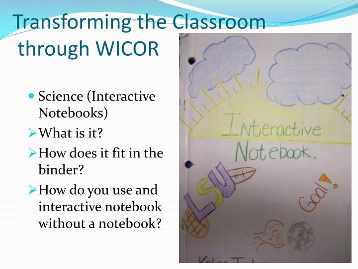 Transforming the Classroom