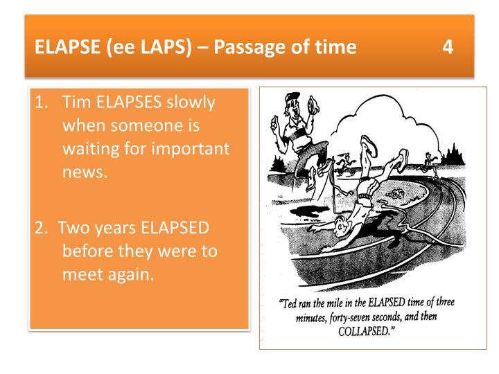 ELAPSE (