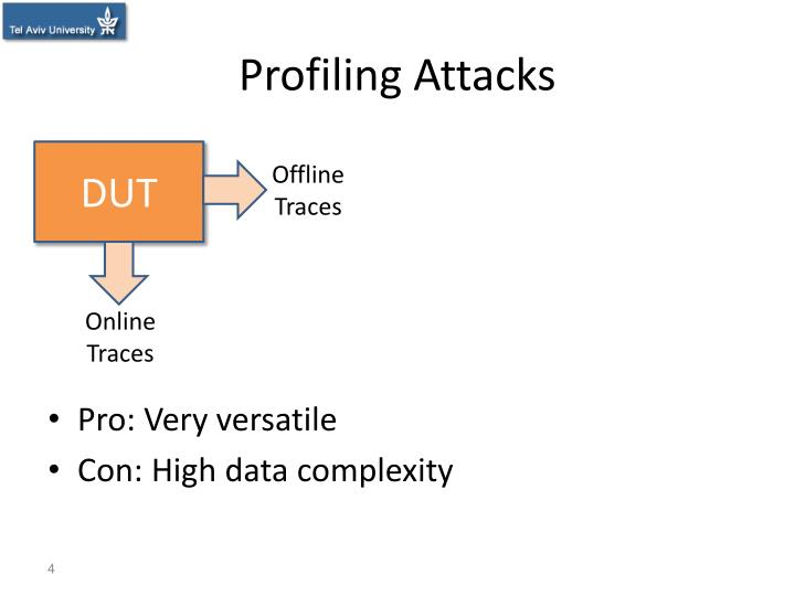 Profiling Attacks