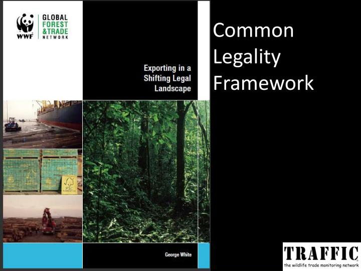 Common Legality Framework