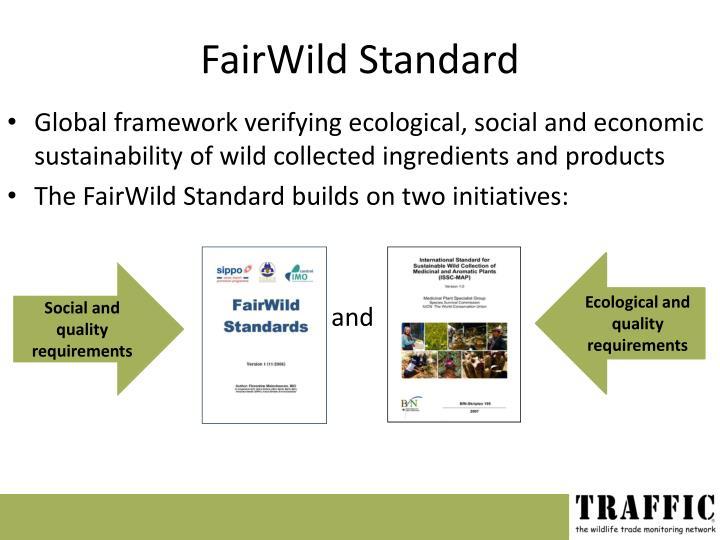 FairWild Standard