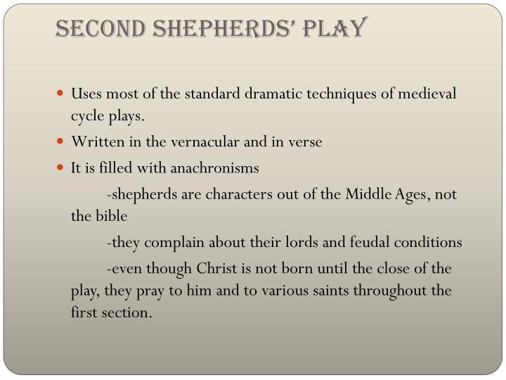 Second Shepherds' Play