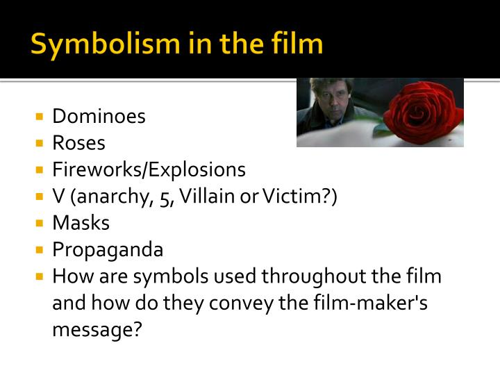 Symbolism in the film