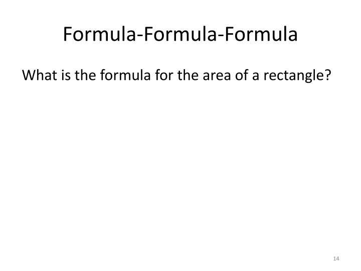 Formula-Formula-Formula