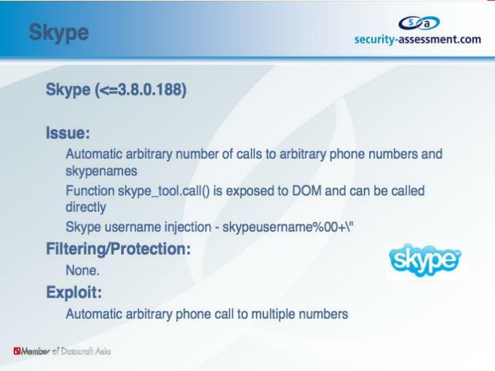 Skype(<=3.8.0.188)