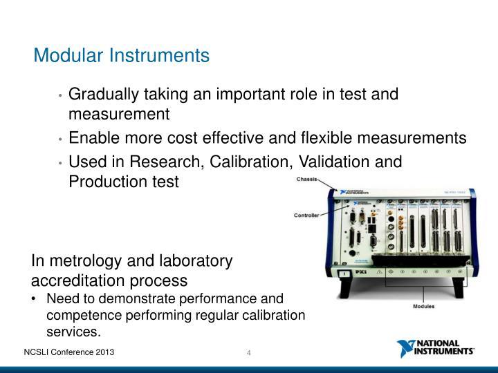 Modular Instruments