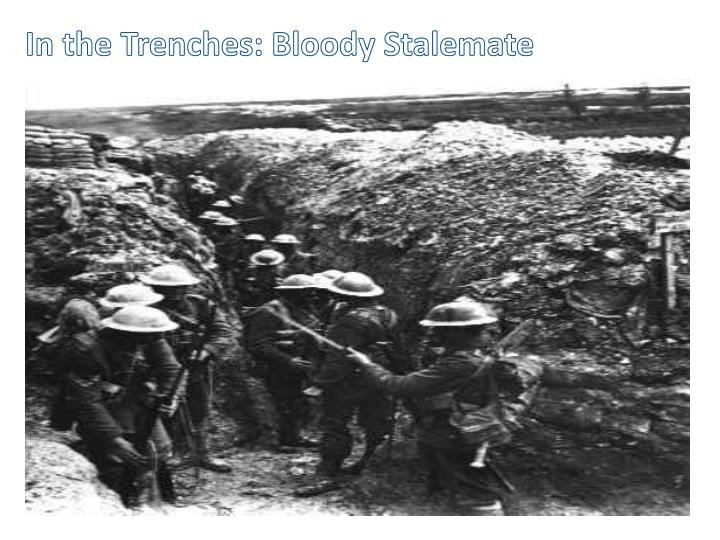 In the Trenches: Bloody Stalemate