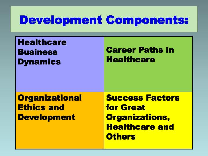 Development Components: