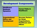 development components