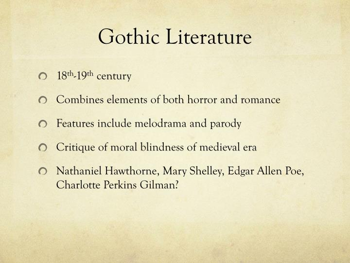 southern gothic literature Southern gothic: southern gothic, a style of writing practiced by many writers of the american south whose stories set in that region are characterized by grotesque, macabre, or fantastic.