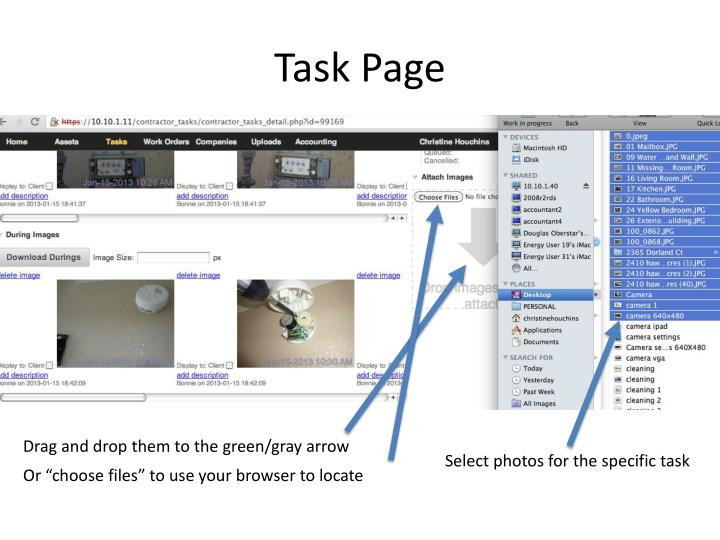 Task Page