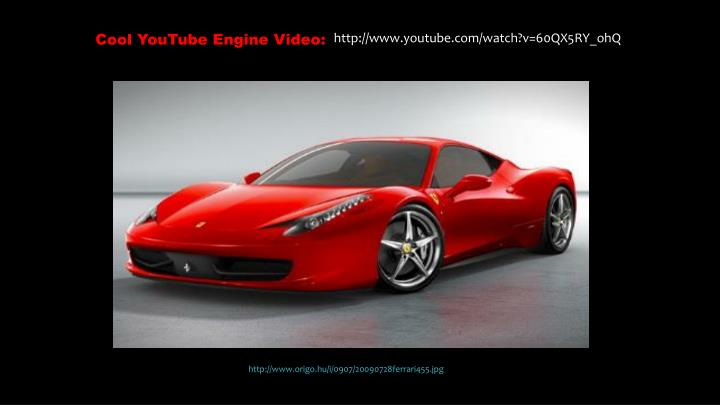 Cool YouTube Engine Video: