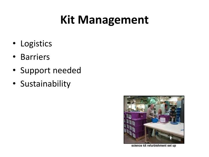 Kit Management