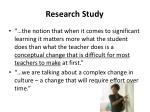 research study4