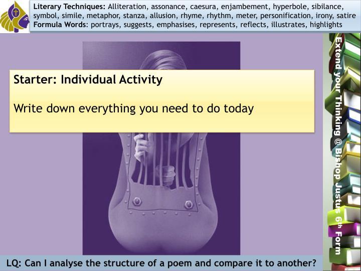 Literary Techniques:
