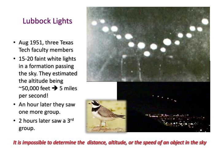 Lubbock Lights