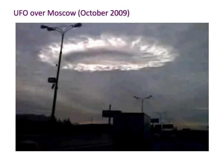 UFO over Moscow (October 2009)