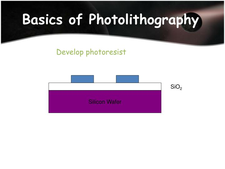 Basics of Photolithography