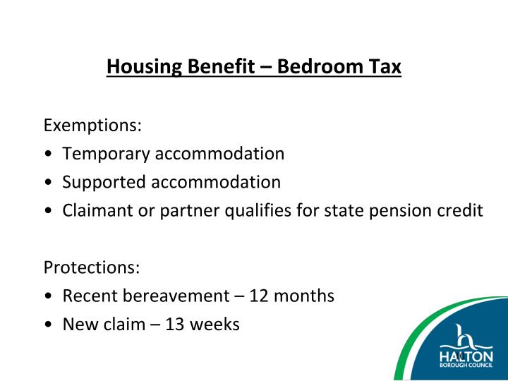 Housing Benefit – Bedroom Tax