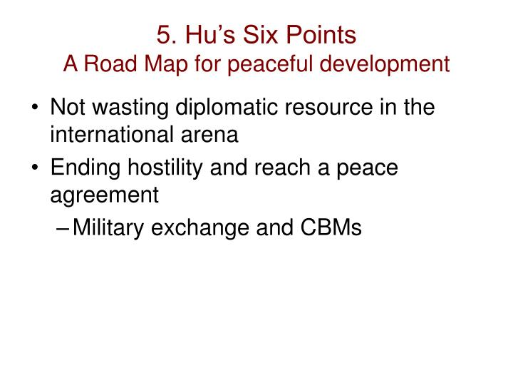 5. Hu's Six Points