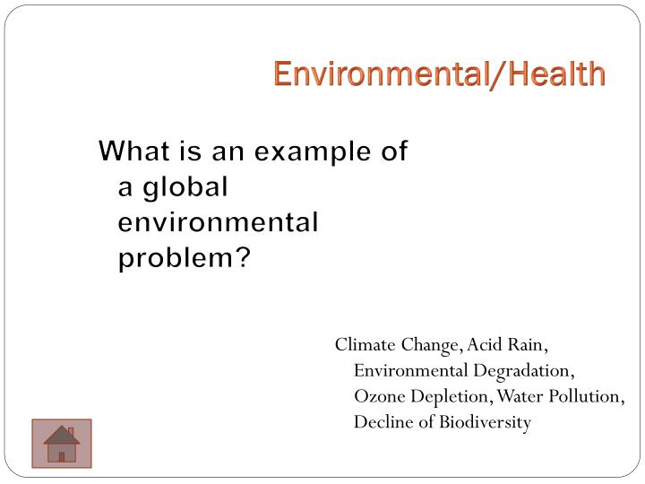Environmental/Health