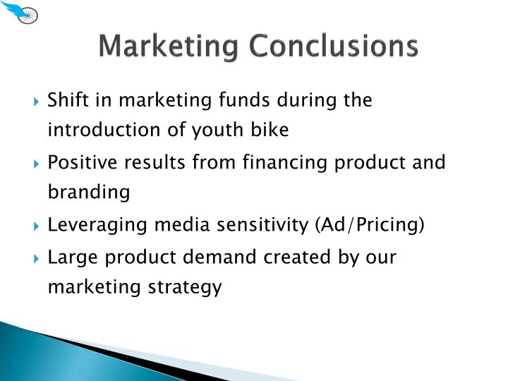 Marketing Conclusions