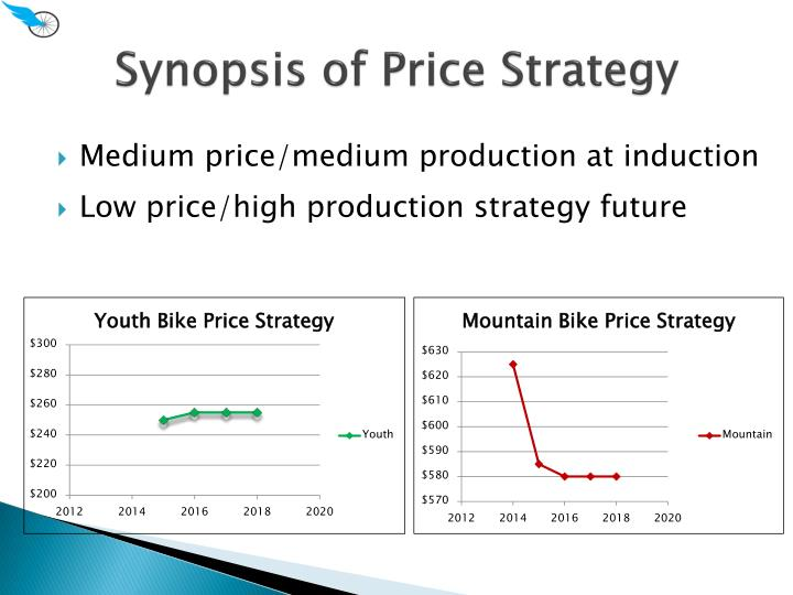 Synopsis of Price Strategy