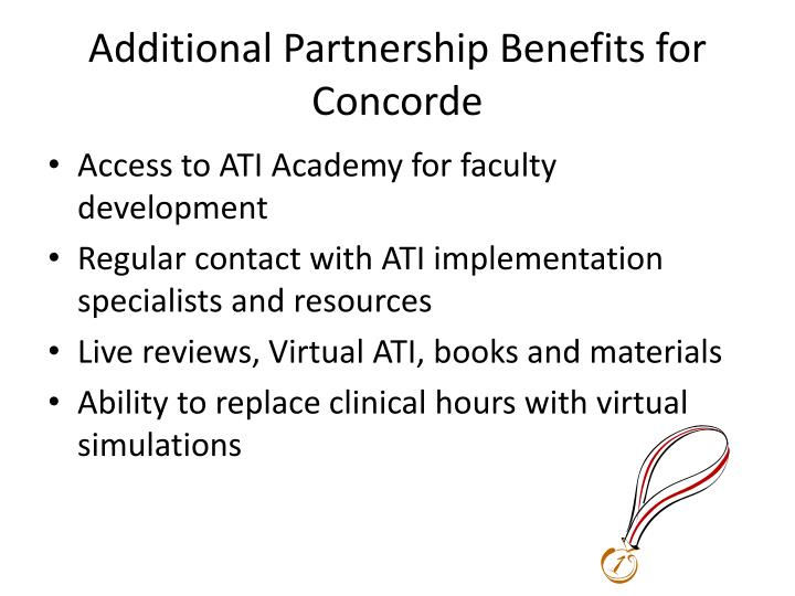 Additional Partnership Benefits for Concorde