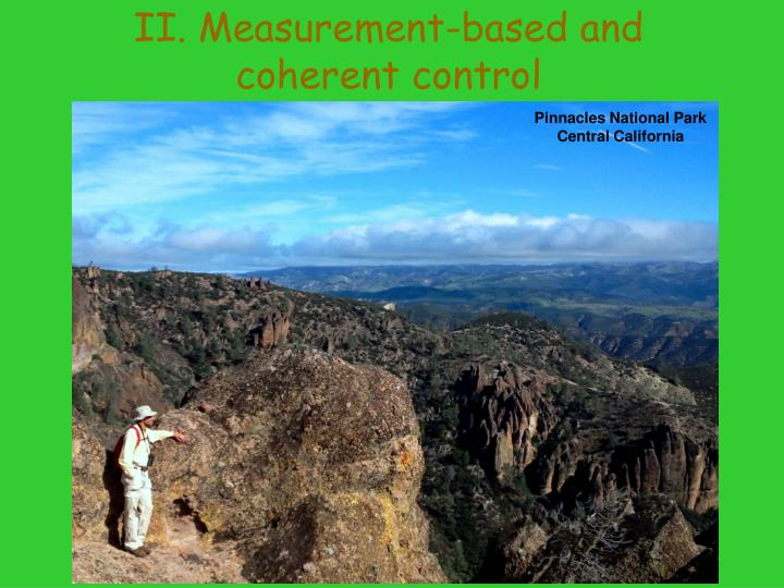 II. Measurement-based