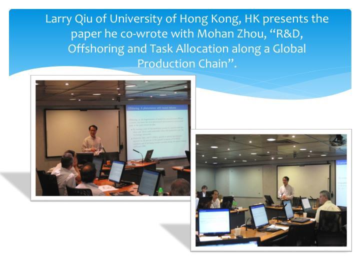 Larry Qiu of