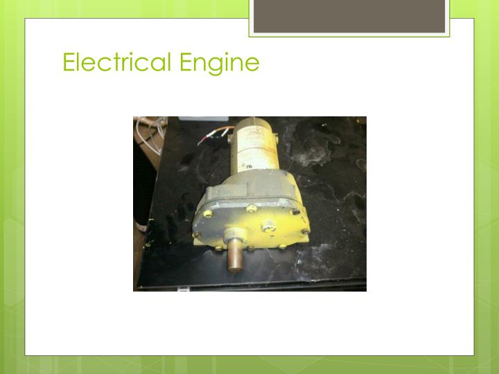 Electrical engine