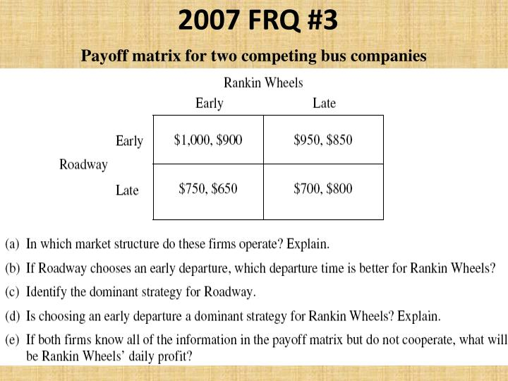 2007 FRQ #3
