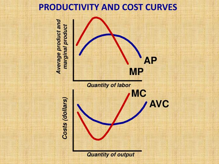 PRODUCTIVITY AND COST CURVES