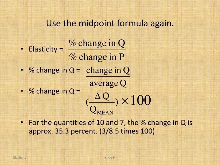 Use the midpoint formula again.
